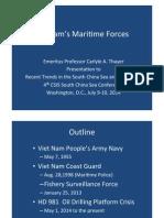 Thayer Vietnam's Maritime Forces.pptx
