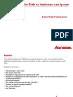 Cyber Risk Presentation 2013 (AGIB)