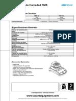 Especificaciones Técnicas - PMB