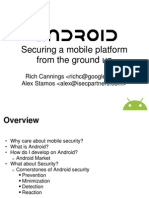 PacSec Talk Slides Android Security