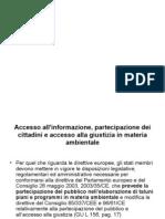 Accesso All' Informazione - Partecipazione Pubblico