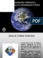 Calentamiento Global Ppt