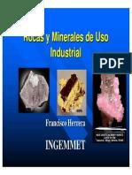 Rocas y Minerales de Uso Industrial