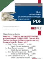 5. Quiz Income Taxes