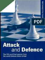 Dvoretsky, Mark - Attack and Defense