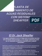 Planta de Tratamientos de Aguas Residuales Con Sistema Sheaffer