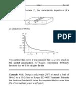Quarter-Wave-Transformer Matching Problem