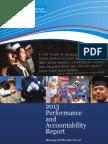 US Veterans Affairs 2013 Annual Report