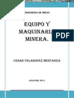 Manual Equipos Pesados Maquinaria Pesada Minera