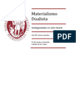 John Searle Materialismo Dualista