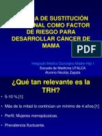 TSH Como Factor de Riesgo Para CA Mama