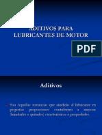 Aditivos Para Lubricantes de Motor