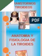 TRANSTORNOS TIROIDEOS