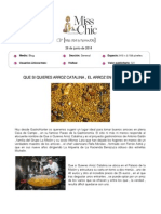 Blog Miss and Chic (Grazia.es), 26 de Junio de 2014