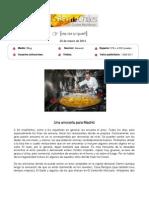 Blog Salsa de Chiles, Carlos Maribona, 24 de Marzo de 2014