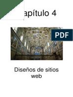 Capitulo 4 Disenos de Sitio Web