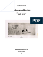 Guenter Wohlfart - Philosophical Daoism - Zhuangzi Lectures