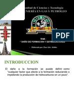 Daños a La Formacion Ing.... Alcides Paco