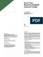 Test Your Business English - General Usage%2C By J.S. McKellen %28Penguin%29 %5BESL%5D