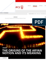 The Origins of the Aryan Notion and its Meaning | Aryan Legacy