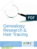 Genealogy and Heir Tracing