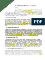 Cronologia Da Literatura - Brasil