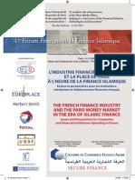1er Forum Francais de La Finance Islamique Paris 6 Decembre 2007