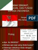 ppt kedudukan dan fungsi bahasa