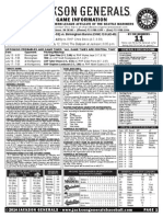 7.12.14 Game Notes vs BIR