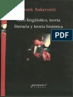 Ankersmit, F - Giro Linguistico