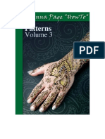 """The Henna Page """"How-to"""" Patterns vol. 3"""