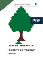 Plan de Gob Pilcuyo Moral y Desarrollo