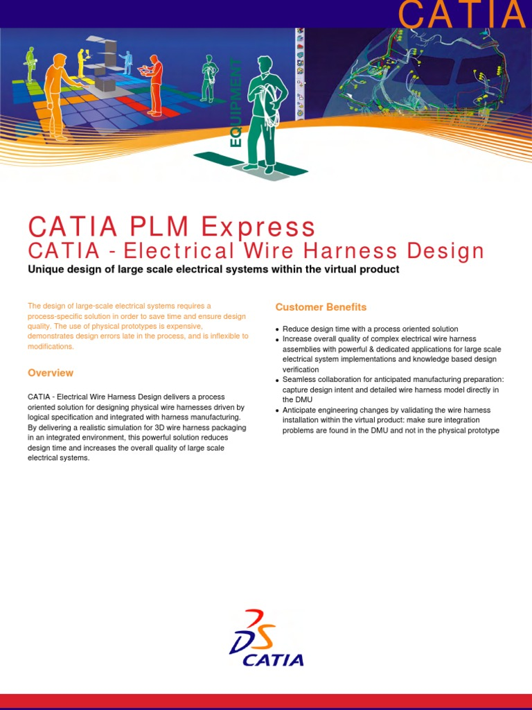 catia electrical wire harness design science and technology rh scribd com Wiring Harness Connectors Truck Wiring Harness