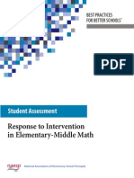 math intervention blue