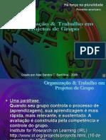 Organização e trabalho em projetos de grupo