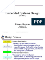 design process in embedded system Session 03