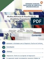 LOS MEDIOS ALTERNOS DE RESOLUCIÓN DE CONFLICTOS ORGANIZACIONALES_GRUPO 1