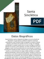 Santa Sinclética