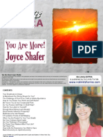 Joyce Shafer, You Are More