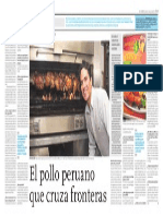Yolanda Vaccaro Entrevista Gary Llempen Pollos Rikos Barcelona