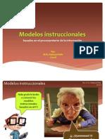 Modelos instruccionales - Clase Presencial MEIDI