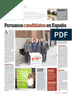 Yolanda Vaccaro Peruanos Candidatos Elecciones España