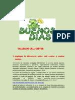 Modificacion de Taller Call