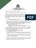 Alcilene Prova 3 2013.2