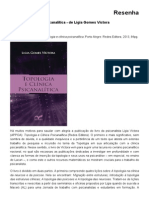 Topologia e Clínica Psicanalítica - De Ligia Gomes Victora - Correio APPOA