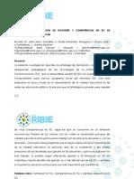 Estrategia de formación de docentes y competencias en TIC de Computadores para Educar RIBIE