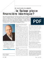 Demain La Suisse Place Financiere Islamique