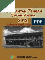 6200 Kalimantan Tengah Dalam Angka 2012