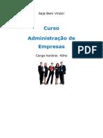 Curso Administração de Empresas