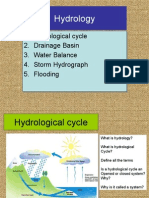 Topic on hydrology (revision)